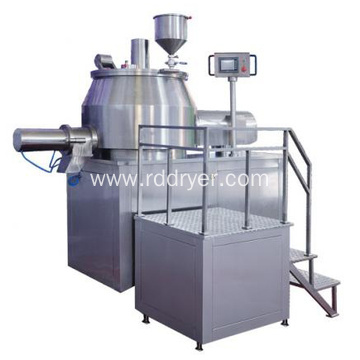 High speed mixing granulator